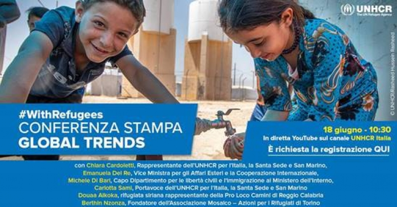 Conferenza stampa Global Trends 2019
