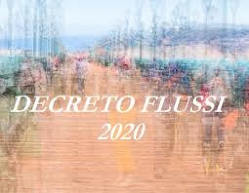 FLUSSI 2020: DISTRIBUITE SUL TERRITORIO LE PRIME QUOTE PER INGRESSI E CONVERSIONI