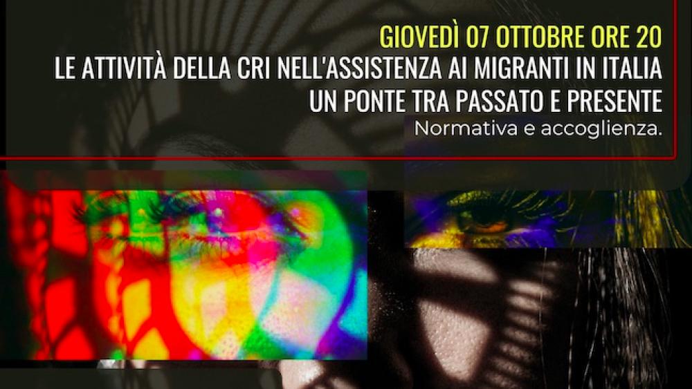 "Pesaro, Croce Rossa Italiana: evento online ""Migranti 2021″"